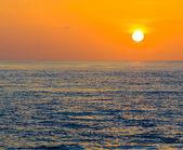 Fotografie Sonnenaufgang im Tropenmeer