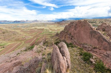 View of Hayu Marca, Peru