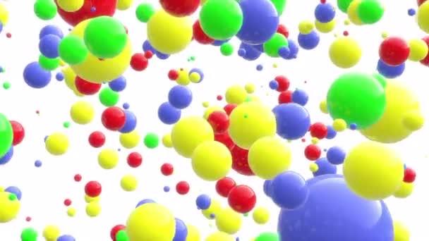 8 k 4k Uhd barevné kuličky bodů zábavné pozadí pozadí