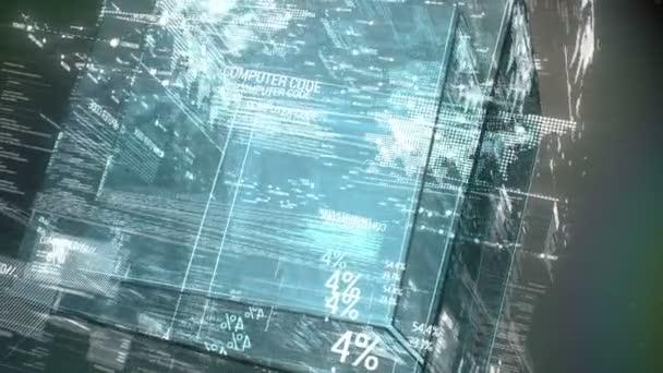 Počítač kód programu digitální pozadí