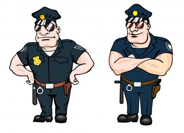 Beefy determined police officers
