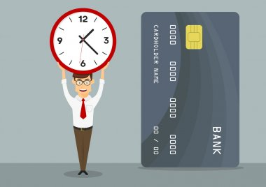 Manager with fast approved credit card