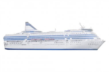 The image of a cruise ship