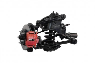 Car suspension isolated