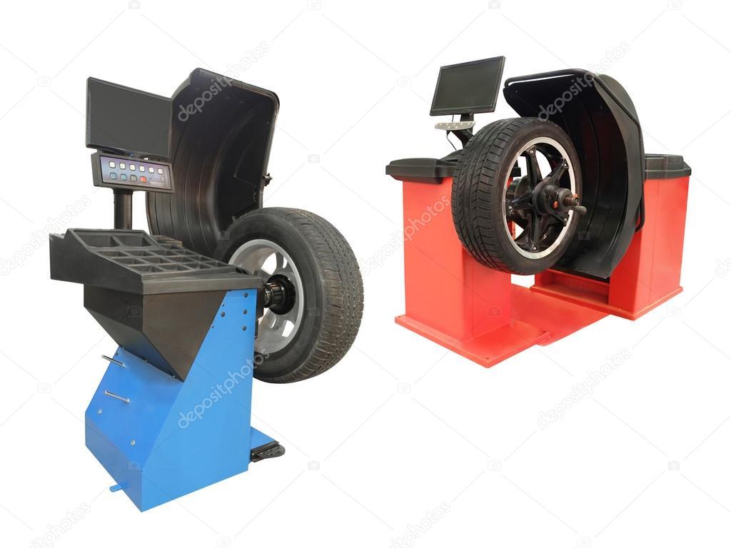 machine de pose de pneu photographie uatp12 53244543. Black Bedroom Furniture Sets. Home Design Ideas