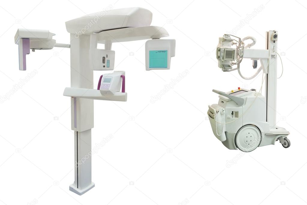 máquina de rayos x móvil — Fotos de Stock © uatp12 #54403239
