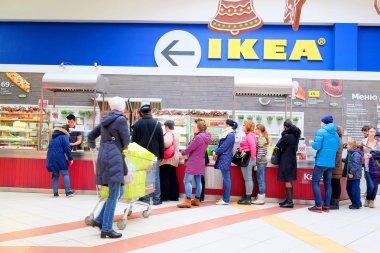 IKEA in  shopping center Mega