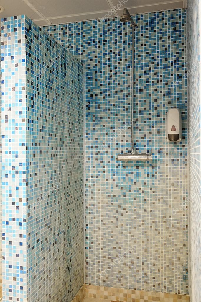 Indoor shower at swimming pool — Stock Photo © uatp12 #64016061