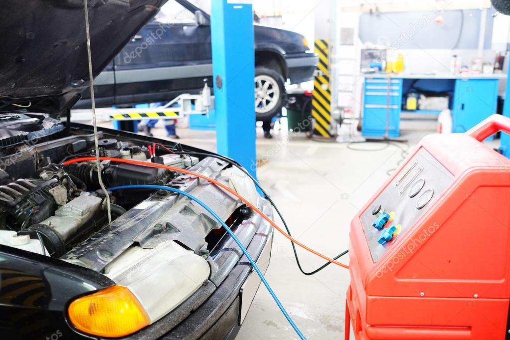 Car Battery Charging Stock Photo C Uatp12 65314815