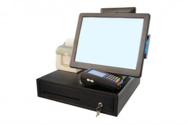 Point of sale touch screen system
