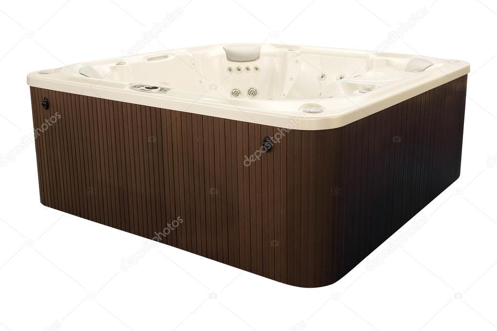 Luxurious modern Jacuzzi — Stock Photo © uatp12 #69136625