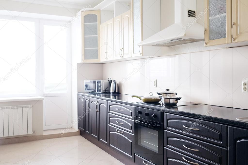 Moderne Keukens Afbeeldingen : Afbeelding van een moderne keuken u stockfoto uatp
