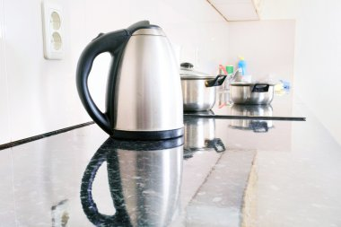 Close-up electric kettle