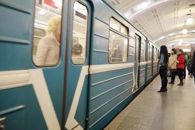 Sokolnicheskaya line in Moscow metro