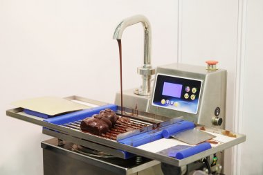 Machine for melting chocolate.