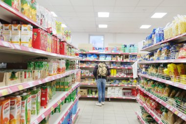 Supermarket Pyaterochka in Moscow