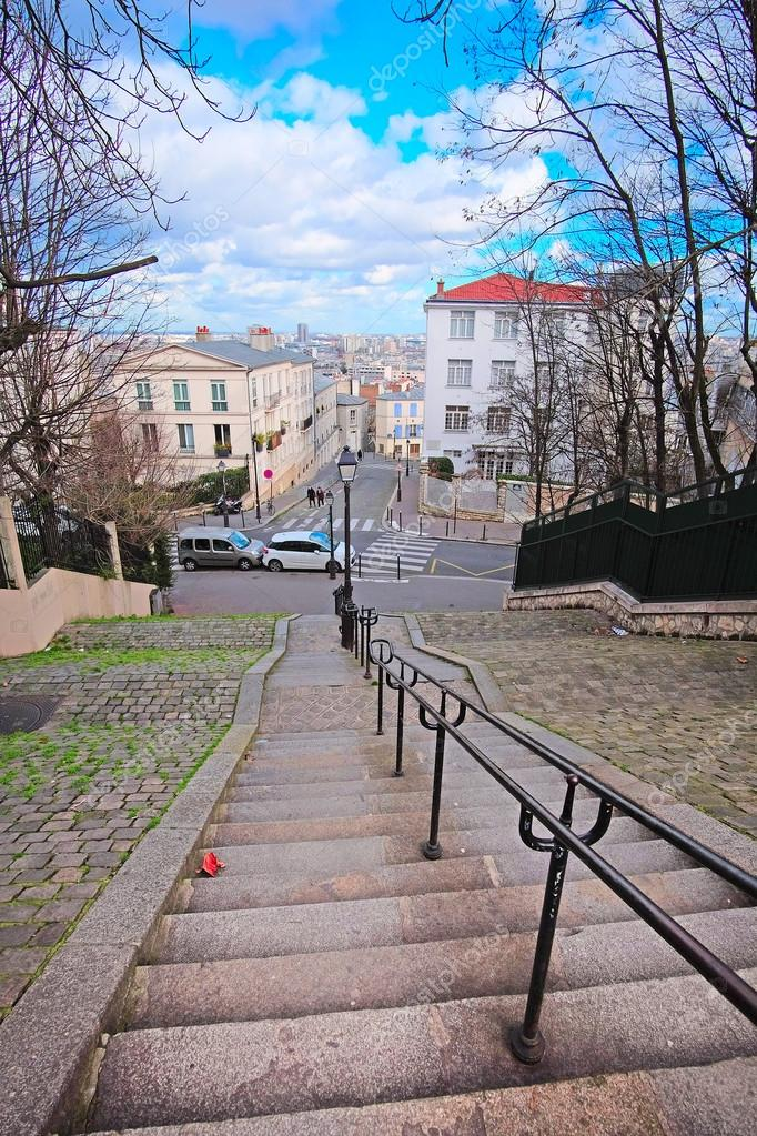 Veiw To Paris From Montmartre Stock Photo C Uatp12 99950986