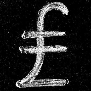 Chalk turkish lira
