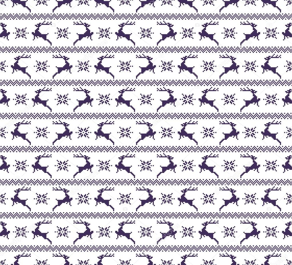 sin costura patrones de Navidad — Vector de stock © ivofet #90977284