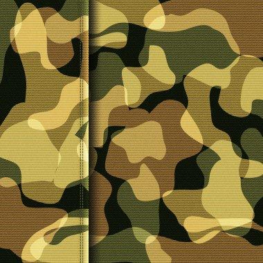 Camouflage khaki texture