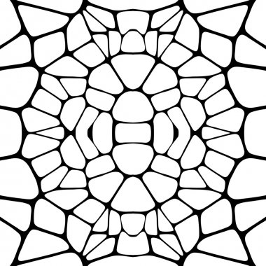 Lattice seamless background.