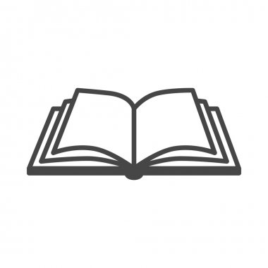 Open book icon