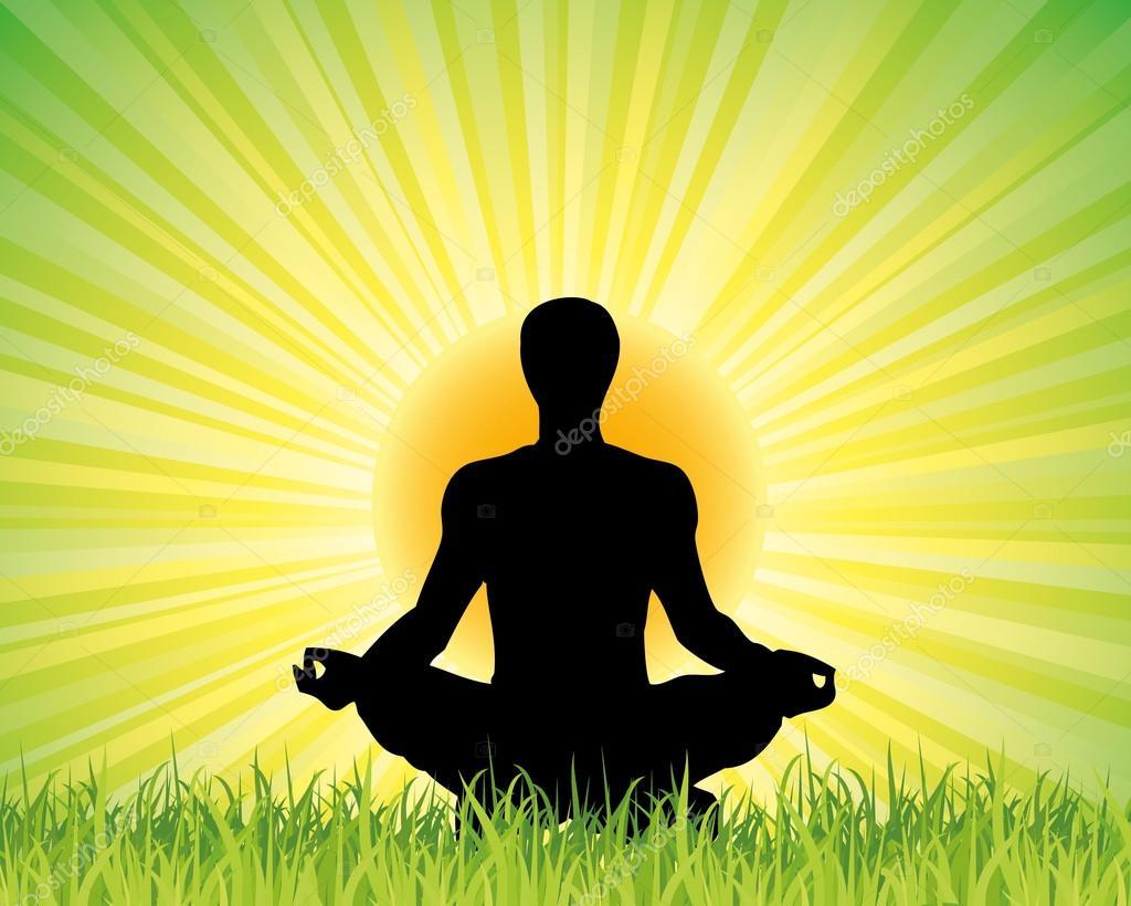 Yoga Background Stock Vector C Kots 09 53445095