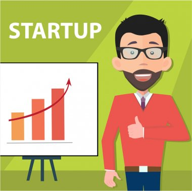 Presenting startup information