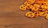 Typical bavarian pretzels