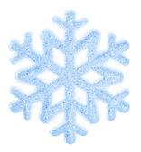 Szép hópehely díszítéssel