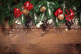 Fotografia decorate i rami dellalbero di Natale