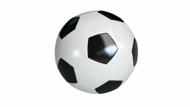 fotbal, fotbalový míč otáčí kolem své osy