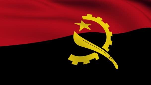 Pod vlajkou Angoly smyčkou