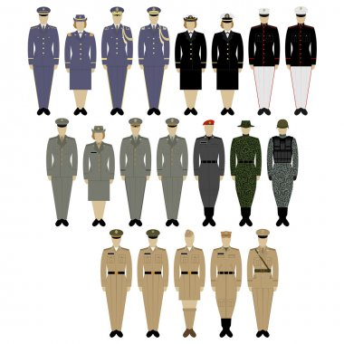 Military uniforms of the US Army