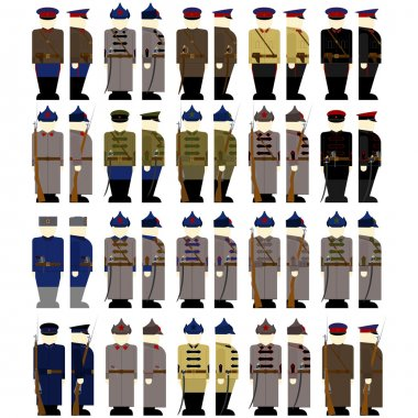 Uniforms employees GPU and NKVD of the USSR