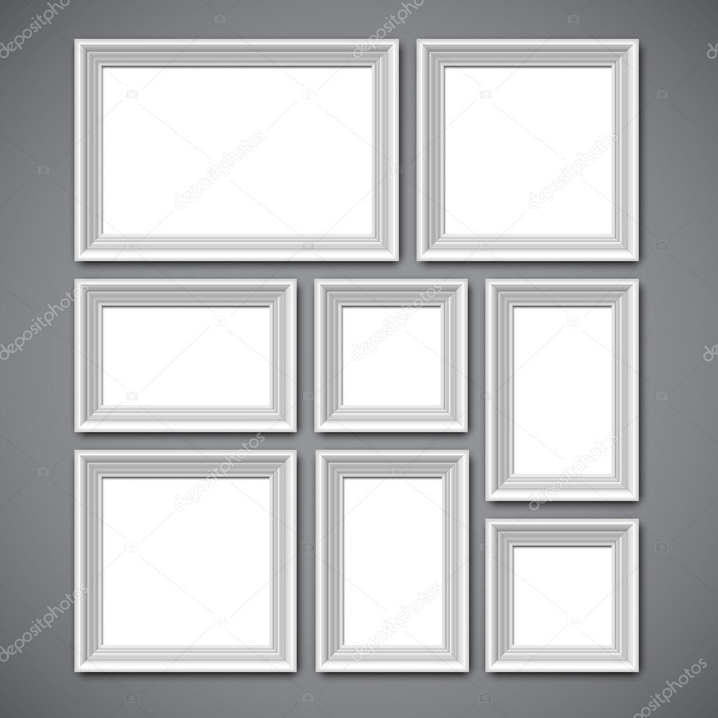 Collage de marcos de imagen — Vector de stock © timurock #112289350