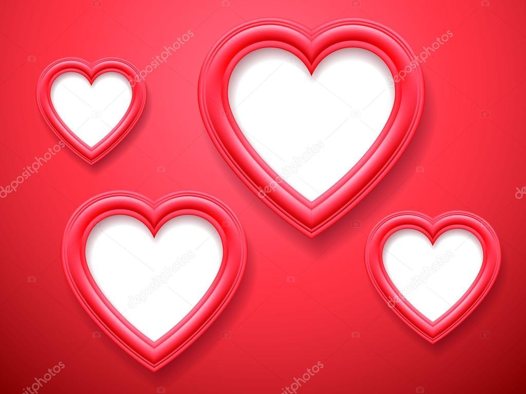 Herzförmigen Bilderrahmen — Stockvektor © timurock #62090137
