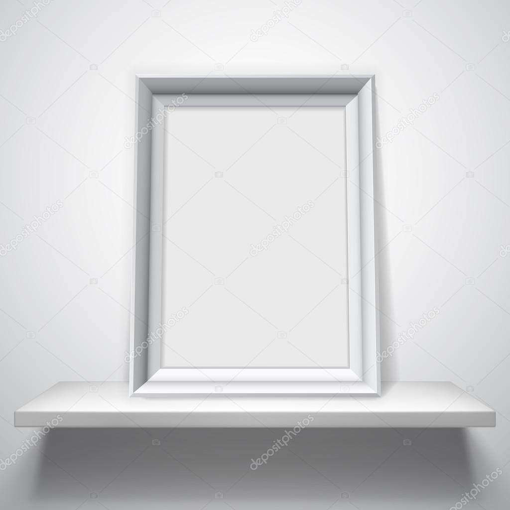 marco blanco en blanco — Vector de stock © timurock #65711623