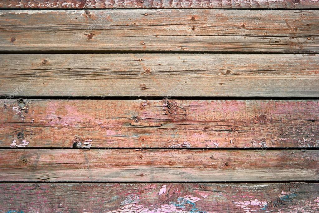 Rustic Weathered Barn Wood Background Painted In Red Color U2014 Stock Photo