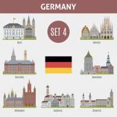 Fotografie berühmte orte städte in deutschland