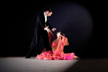 Young Dancers in ballroom