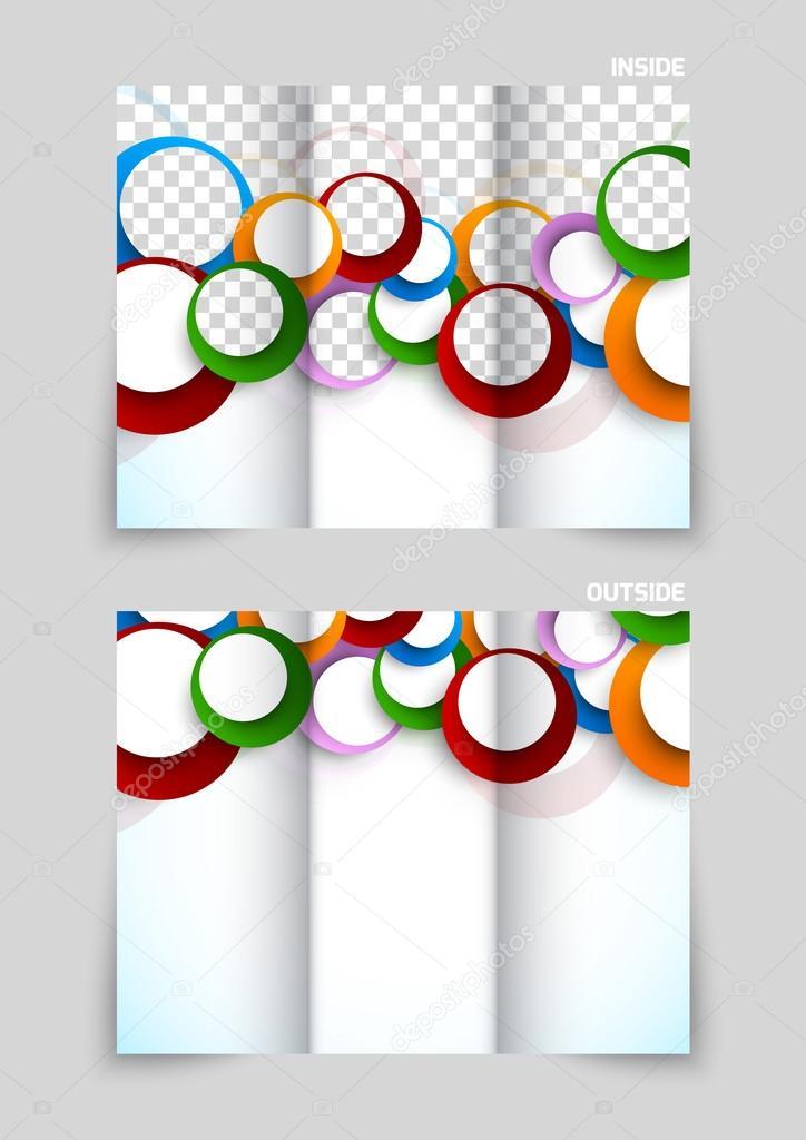 Fondos Para Tripticos De Colores Dise 241 O De Plantillas De