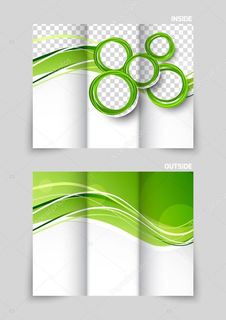 tri fold brochure template design stock vector denchik 53804275