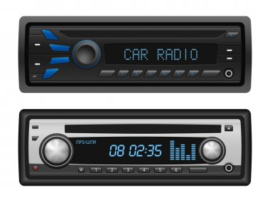 Car radio set