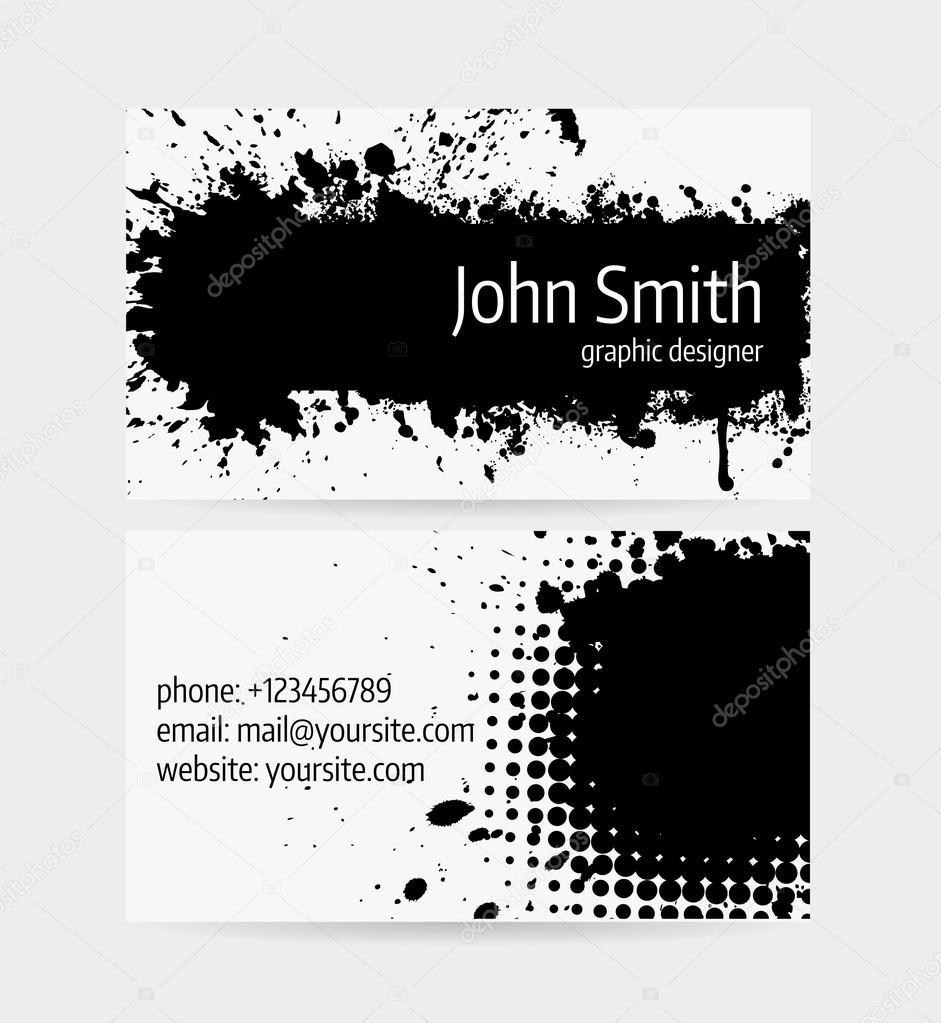 Tolle Einzigartige Visitenkartenvorlagen Fotos - Beispiel ...
