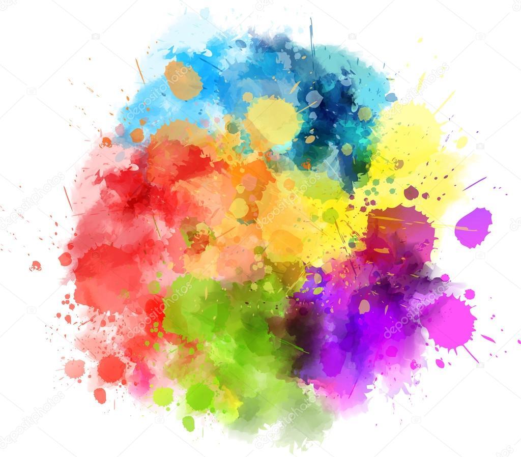 tache de splash multicolore image vectorielle artlana. Black Bedroom Furniture Sets. Home Design Ideas
