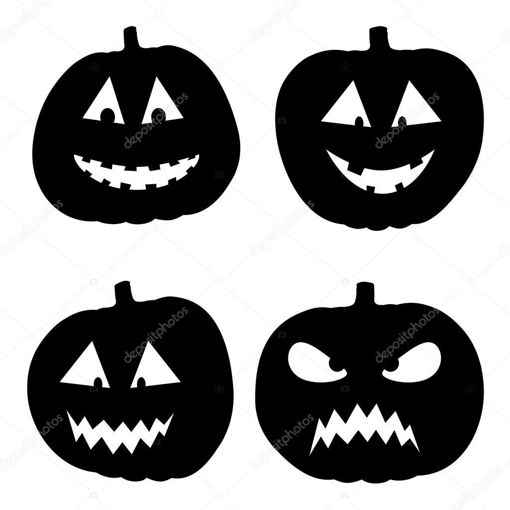 かぼちゃハロウィン背景のベクトル イラスト ストックベクター