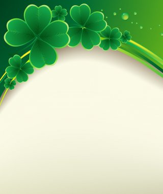 St. Patricks Day greeting.
