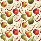 Vzorek s jablky a hruškami