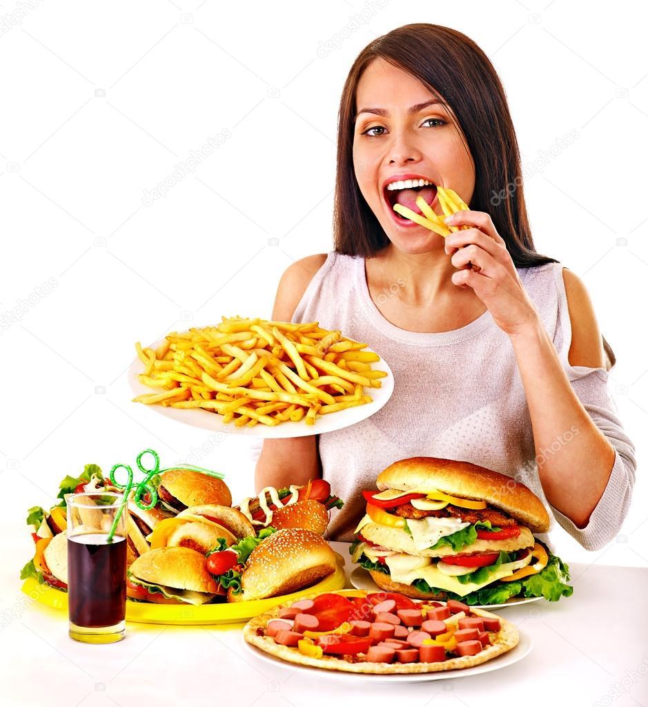 slamme eating fast food - HD3760×4100
